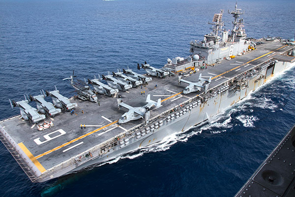 Marine Propulsion in use